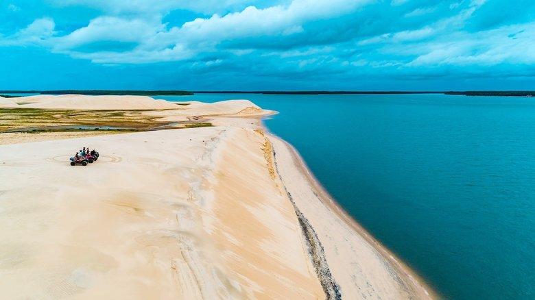 delta do parnaiba o delta das americas praia - Delta do Parnaíba - Um santuário ecológico do Brasil