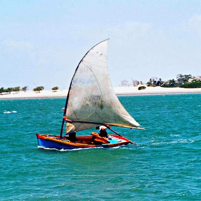Foto da Praia de Águas Belas - Passeio de Jangada