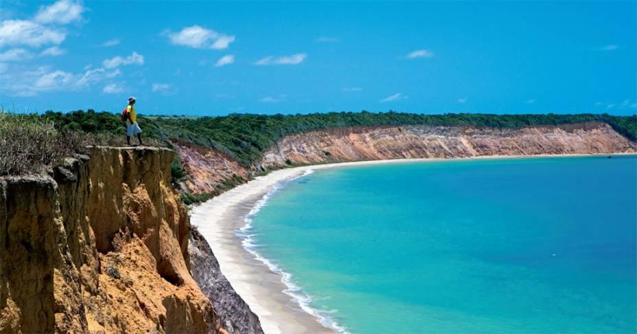 Praia do Carro Quebrado - Alagoas. Foto: Viagem e Turismo