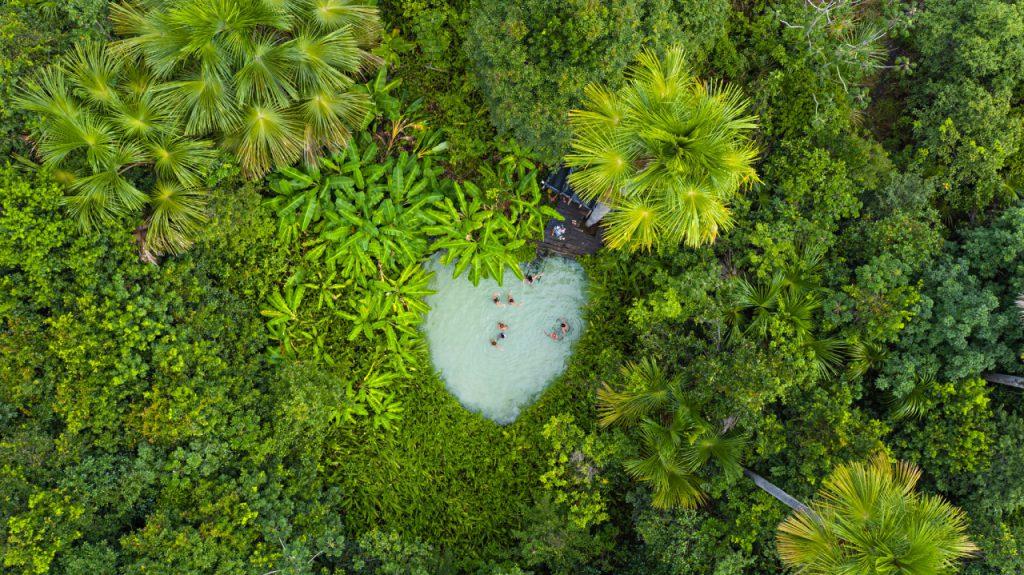 Fervedouros do Jalapão - Tocantins. Foto: Ministério do Turismo