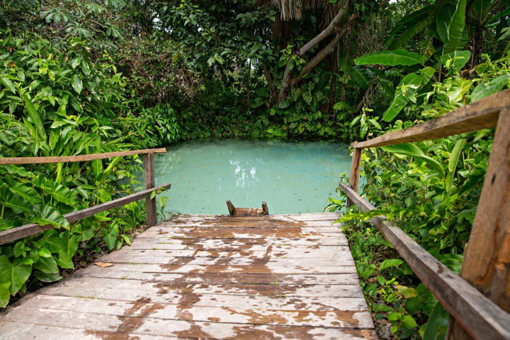 Ponte no fervedouro Bela Vista
