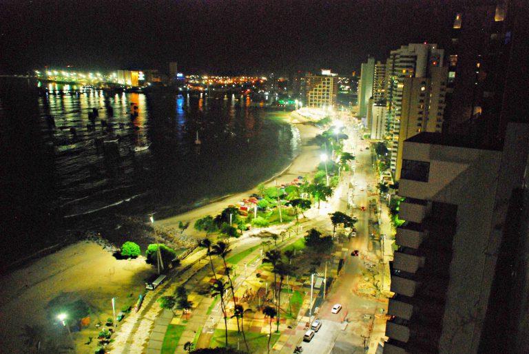 Vista do alto da cidade de Fortaleza