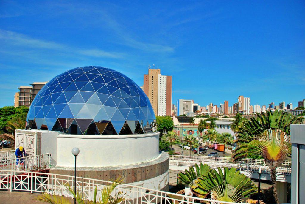 Planetário do Dragão do Mar em Fortaleza -