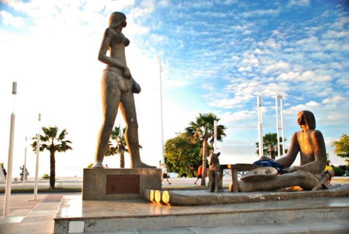 Estátua de Iracema - Pontos turísticos de Fortaleza