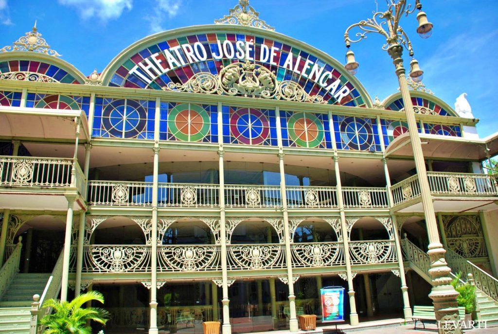 Teatro José de Alencar- pontos turísticos de Fortaleza