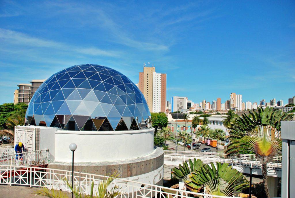 Pontos turísticos de Fortaleza. Centro Dragão do Mar.