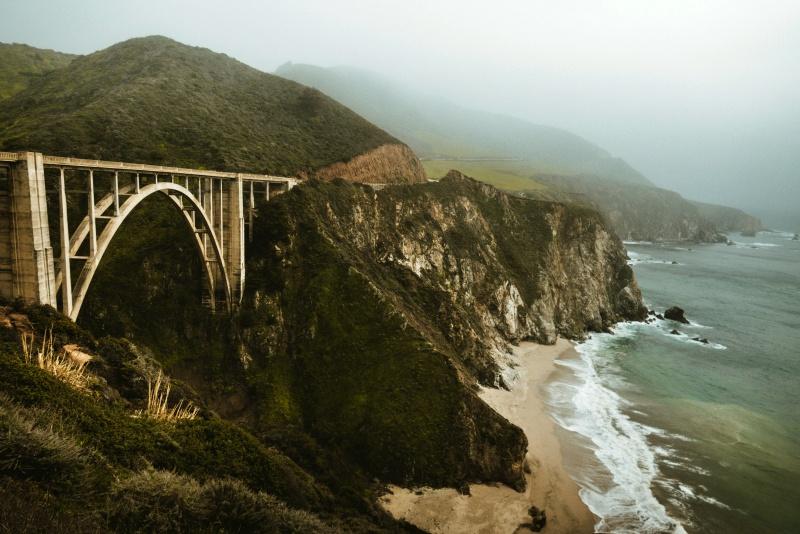 big sur bixby bridge bridge 2331572 - Monterey County - Conheça o cenário das gravações de Big Little Lies