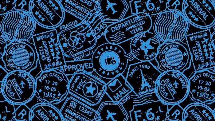 estampa azul retangular - 8 motivos para reservar com a Levarti em suas próximas viagens