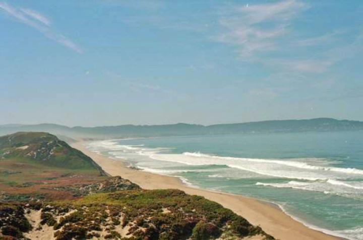 Del Monte Beach, Monterey, cenário da série Big Littles Lies