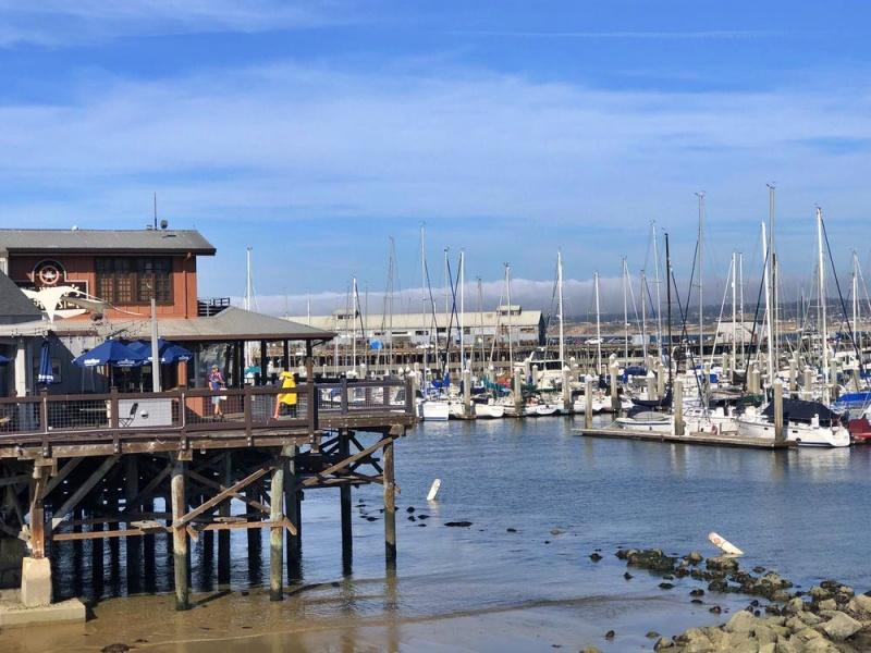 Old Fisherman's Wharf, Monterey, CA