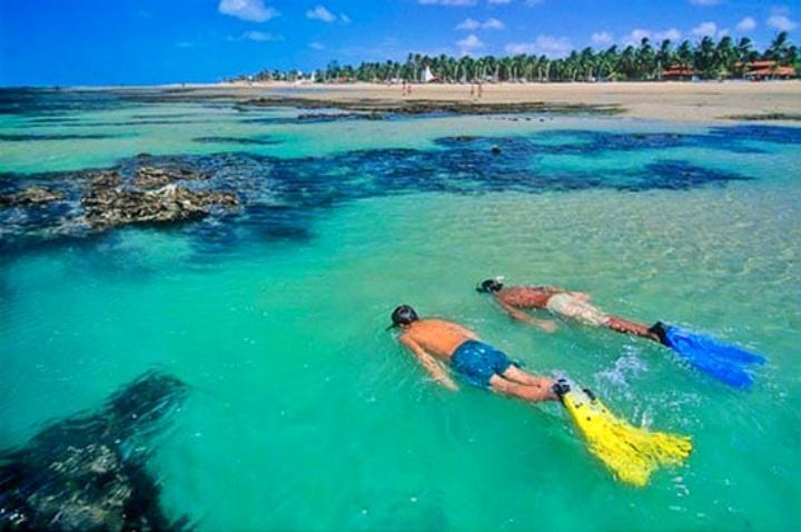 Passeios em Fortaleza: praia de Flecheiras
