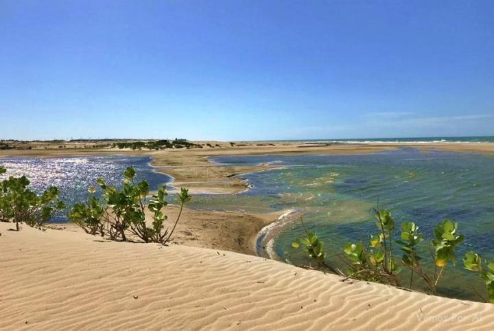 Lagoa do Jeque, Praia de Lagoinha-CE. Passeios em Fortaleza