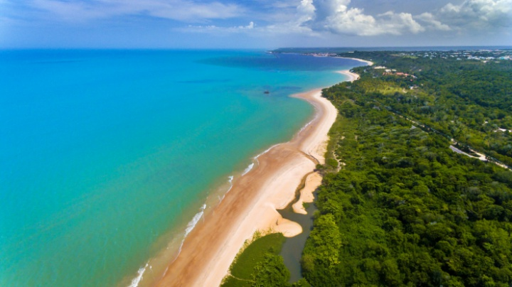 Praia de Mundaí - Porto Seguro BA - praias de Porto Seguro