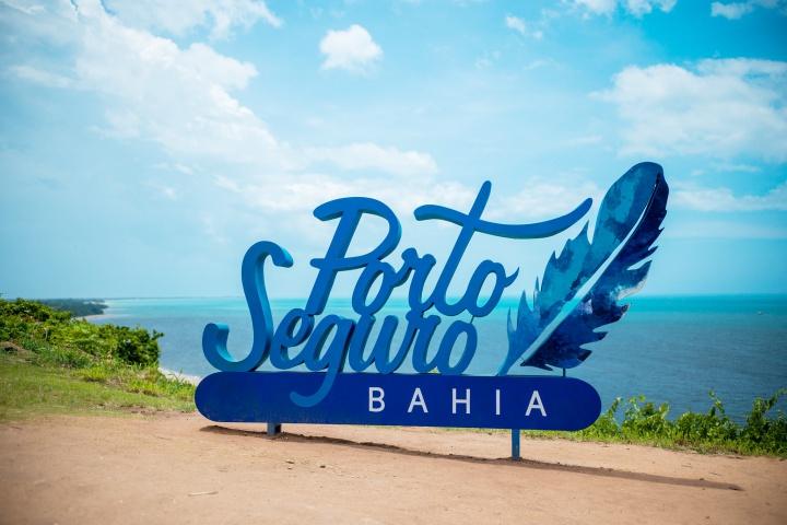 Letreiro Porto Seguro - Bahia