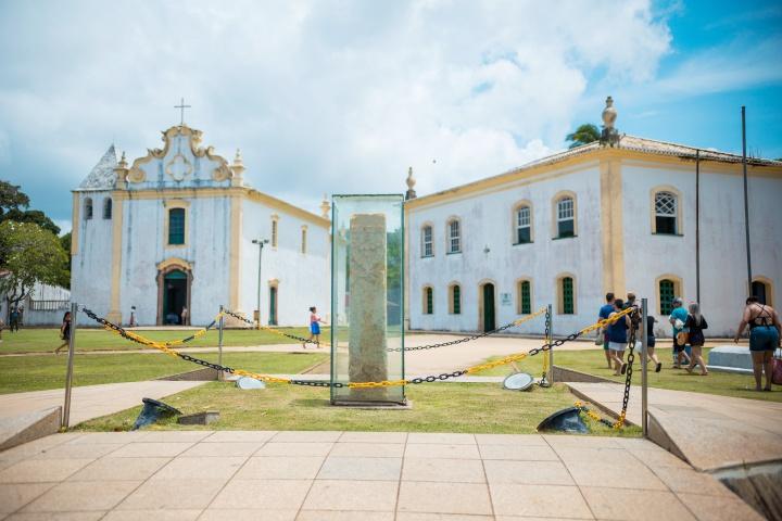 Marco do Descobrimento, Centro Histórico de Porto Seguro.