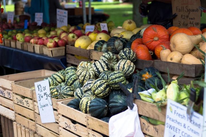 farmers market 1213097 1280 - Turismo sustentável - Como reduzir os impactos das nossas viagens?