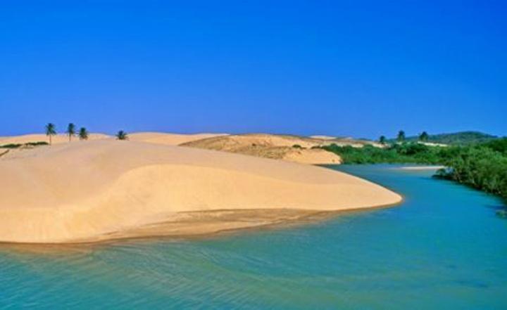 Dunas da Praia de Mundaú.