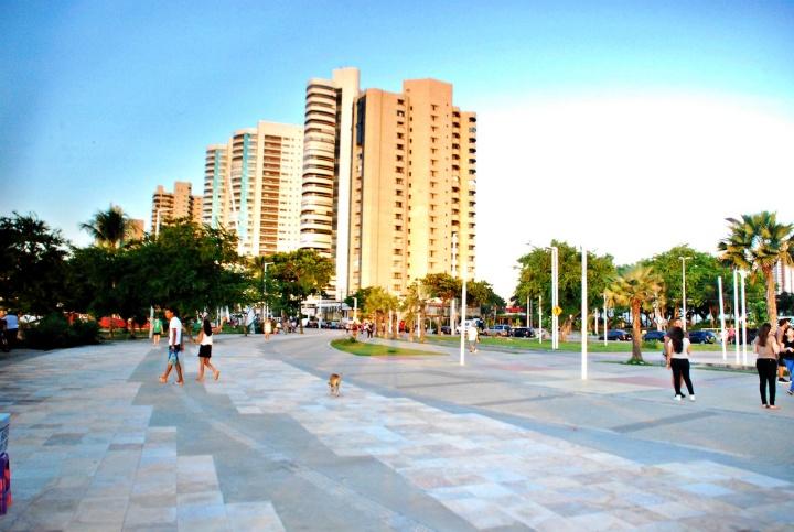 Av. Beira Mar de Fortaleza.