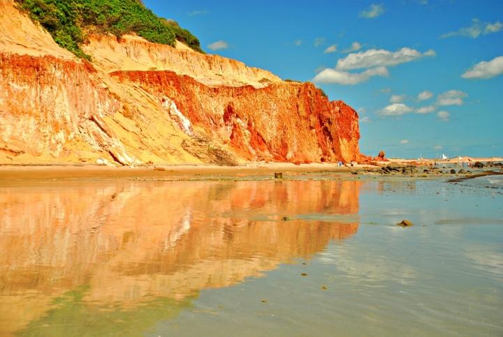 Praia de Ponta Grossa, Icapuí. Passeios em Canoa Quebrada.
