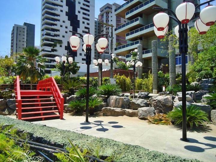 O Jardim Japonês é considerado um dos pontos turísticos mais aconchegantes de Fortaleza.