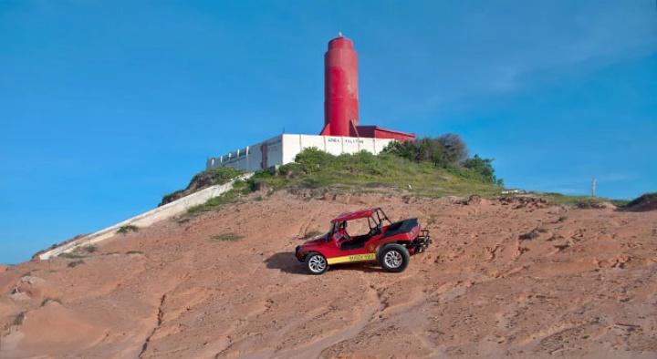 slide 02 - Fortim - CE: Vento, Sol e Sossego no litoral leste cearense
