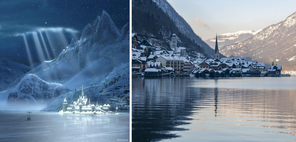 frozen 2 - Hallstatt: o Vilarejo que inspirou os cenários da animação Frozen