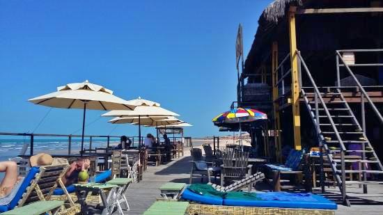 bronzer en dessus de - Guia: 8 melhores barracas de praia em Canoa Quebrada
