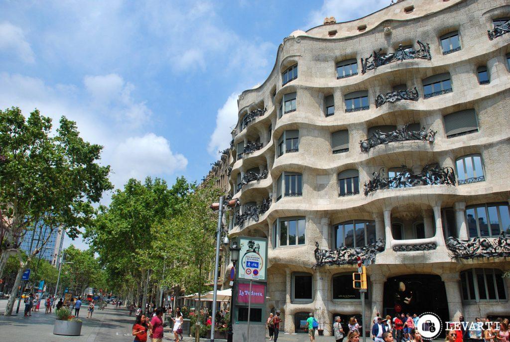 Casa Milà, Barcelona.