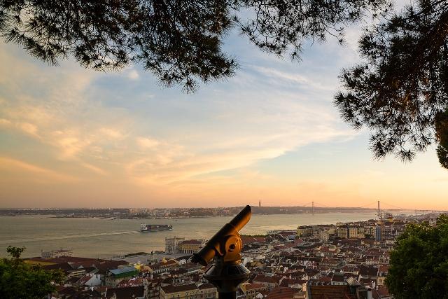 miradouro–castelo–são–jorge - O que fazer em Lisboa: 10 passeios e atrativos para sua primeira viagem