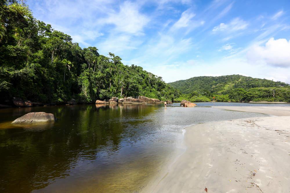 praia de itamambuca - 10  praias paradisíacas para curtir no Litoral de São Paulo