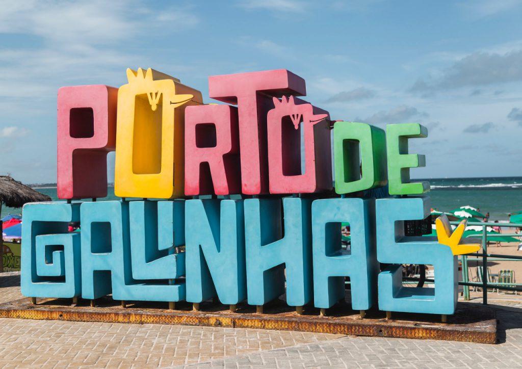 Letreiro de Porto de Galinhas