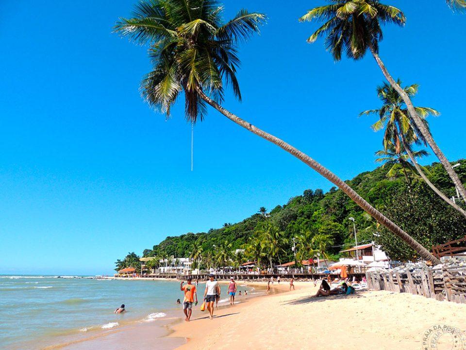 praia do centro pipa 02 960x720 1 - 8 melhores praias de Pipa, em Tibau do Sul RN