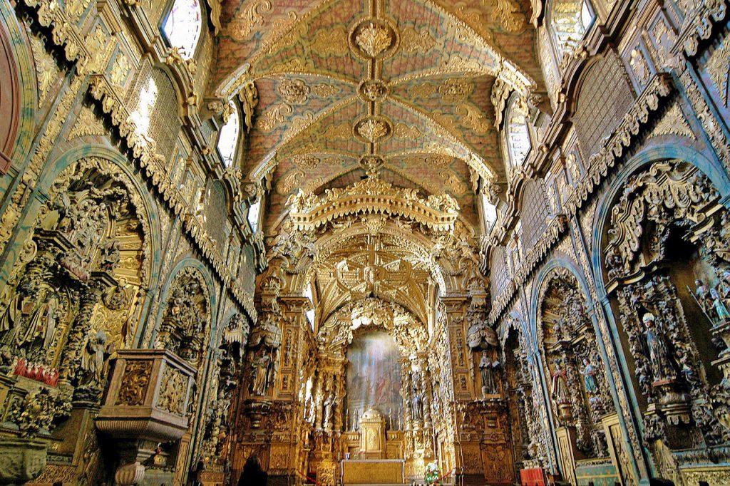 1280px Se Igreja de Santa Clara 6 1024x682 - Porto em dois dias: roteiro prático com os principais pontos turísticos
