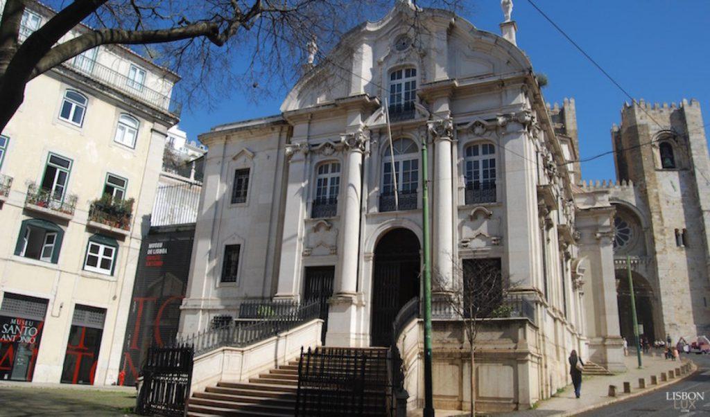 igreja de santo antonio 1024x602 - Lisboa em dois dias: roteiro com os principais pontos turísticos para você visitar