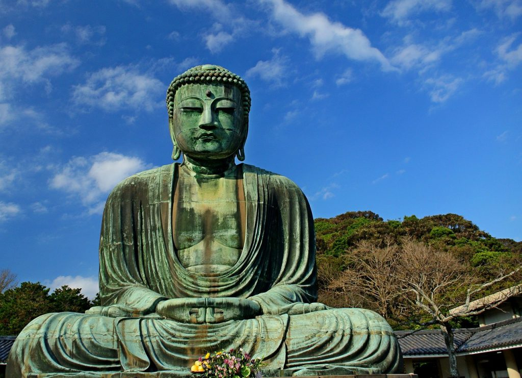 buddha 219885 1280 1024x741 - 4 lugares incríveis para conhecer nos arredores de Tóquio