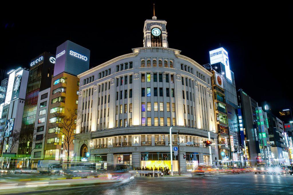 ginza 725794 1280 1024x682 - Onde fazer compras em Tóquio: 6 lugares para incluir no roteiro